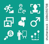 man related set of 9 icons such ...   Shutterstock .eps vector #1086350708