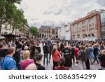 paris  france   august 11  2017....   Shutterstock . vector #1086354299