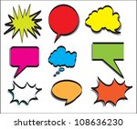 multiple announcement of colors.... | Shutterstock .eps vector #108636230