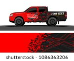 car livery graphic vector.... | Shutterstock .eps vector #1086363206