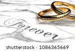 forever love  eternally... | Shutterstock . vector #1086365669