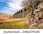 Small photo of Ribblehead Viaduct had its first stone laid on 12 October 1870 and the last in 1874. It is 440 yards (400m) long, and 104 feet (32m) above the valley floor at its highest point.