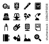 filled other icon set such as... | Shutterstock .eps vector #1086395858