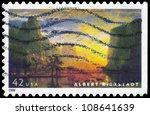 Usa   Circa 2008  A Stamp...