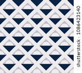seamless geometric pattern gray ...   Shutterstock .eps vector #1086423140
