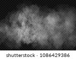 vector realistic isolated smoke ... | Shutterstock .eps vector #1086429386