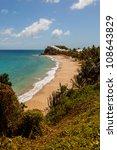 beautiful sunny tropical... | Shutterstock . vector #108643829