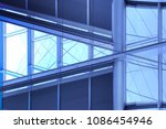 toned photo of windows with... | Shutterstock . vector #1086454946