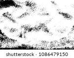distress dirty overlay... | Shutterstock .eps vector #1086479150