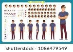 vector illustration of three... | Shutterstock .eps vector #1086479549