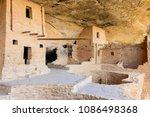 mesa verde national park cliff... | Shutterstock . vector #1086498368