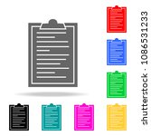 document tablets icons....