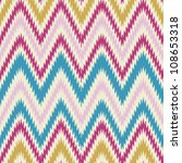 seamless modern and trendy zig...   Shutterstock .eps vector #108653318