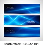 abstract blue colorful website... | Shutterstock .eps vector #108654104