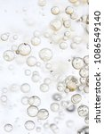 Small photo of Abstract image of bubbles, background image