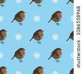 seamless geometrical polka dot... | Shutterstock .eps vector #1086558968