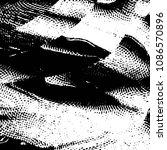 abstract grunge grid stripe... | Shutterstock . vector #1086570896
