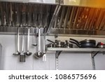 exhaust systems  hood filters... | Shutterstock . vector #1086575696