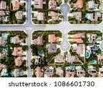 high angle view of a new clean... | Shutterstock . vector #1086601730