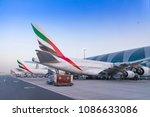 dubai  united arab emirates  ...   Shutterstock . vector #1086633086