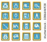 measure precision icons set... | Shutterstock .eps vector #1086646928