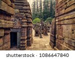 jageshwar temple at almora is... | Shutterstock . vector #1086647840
