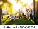 it was a beautiful sunny day... | Shutterstock . vector #1086649910