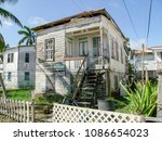 Rundown Wooden House Seen In...