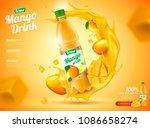 Mango Bottled Juice With Fresh...