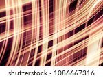 abstract stripes orange... | Shutterstock . vector #1086667316
