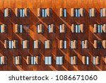 detail of modern architecture... | Shutterstock . vector #1086671060