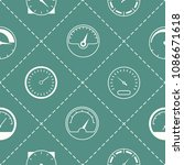 seamless pattern with... | Shutterstock .eps vector #1086671618