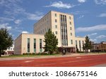 smith county courthouse tyler ... | Shutterstock . vector #1086675146