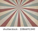 retro pattern a vintage... | Shutterstock .eps vector #1086691340