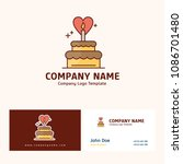 company logo design with name... | Shutterstock .eps vector #1086701480