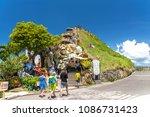 bohol island  philippines. apr...   Shutterstock . vector #1086731423