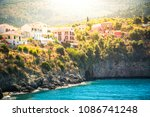 assos is a small town on the... | Shutterstock . vector #1086741248