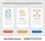 business infographic template... | Shutterstock .eps vector #1086752510