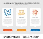 business infographic template... | Shutterstock .eps vector #1086758084