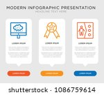 business infographic template... | Shutterstock .eps vector #1086759614