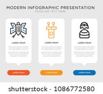 business infographic template... | Shutterstock .eps vector #1086772580