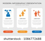 business infographic template... | Shutterstock .eps vector #1086772688