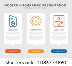 business infographic template... | Shutterstock .eps vector #1086774890