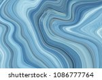 marble ink colorful. blue... | Shutterstock . vector #1086777764