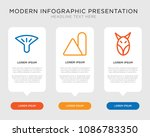 business infographic template... | Shutterstock .eps vector #1086783350