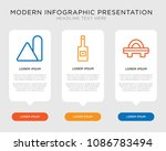 business infographic template... | Shutterstock .eps vector #1086783494
