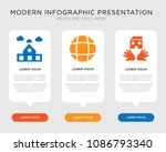 business infographic template... | Shutterstock .eps vector #1086793340