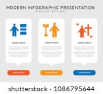 business infographic template... | Shutterstock .eps vector #1086795644