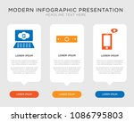 business infographic template... | Shutterstock .eps vector #1086795803