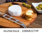 Soft Cheese With White Rind ...